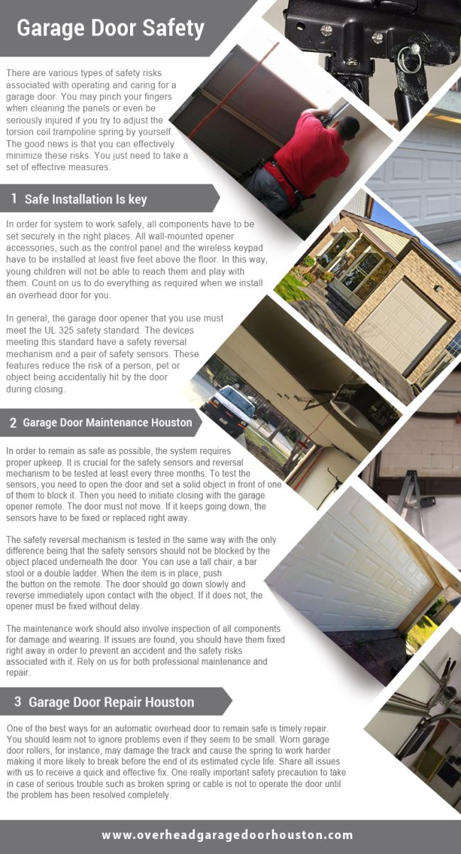 Garage Door Repair Houston Infographic